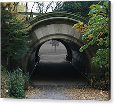 Time Tunnel Acrylic Print by Bill Ades