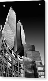 Time-warner Center Acrylic Print