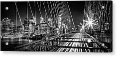 Time Warp City Acrylic Print by Az Jackson