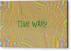 Time Warp Acrylic Print by Thomas Smith