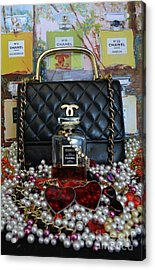 Timeless Accessories 29 Acrylic Print by To-Tam Gerwe