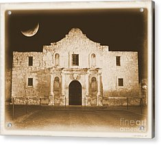 Timeless Alamo Acrylic Print by Carol Groenen