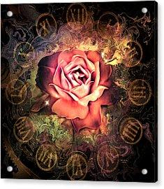 Timeless Rose Acrylic Print