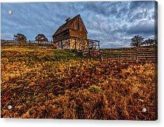 Timeless Rustic Barn  Acrylic Print