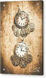 Timepieces From Bygone Fashion Acrylic Print
