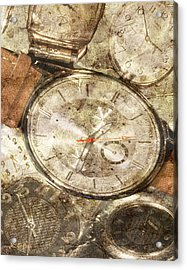 Timepieces Acrylic Print
