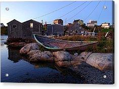 Peggy's Cove, Nova Scotia Acrylic Print by Heather Vopni