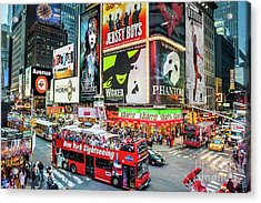 Times Square II Special Edition Acrylic Print