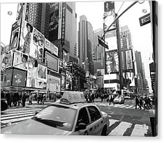 Times Square Acrylic Print by Jessica Stiles