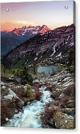 Timp From Silver Lake. Acrylic Print