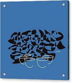 Timpani In Blue Acrylic Print