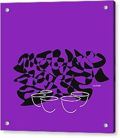 Timpani In Purple Acrylic Print