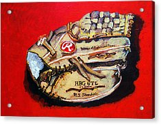 Tim's Glove Acrylic Print by Jame Hayes