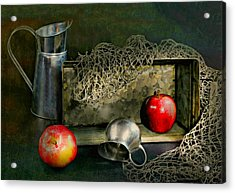 Tin Apples Acrylic Print