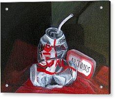 Tin Cans Acrylic Print