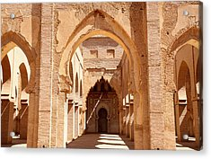 Tin Mal Mosque Acrylic Print by Axiom Photographic