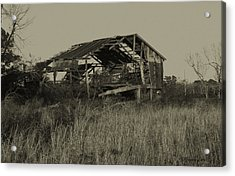 Tin Shack Acrylic Print by Gregory Letts