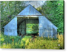Tin Supply Acrylic Print