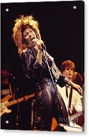 Tina Turner 1984 Acrylic Print by Chris Walter
