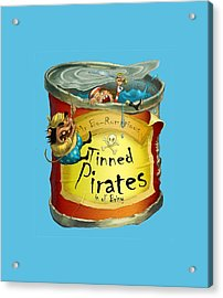Tinned Pirates Acrylic Print