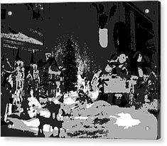 Tinsel Town Acrylic Print