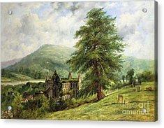 Tintern Abbey  Acrylic Print by Frederick Waters Watts