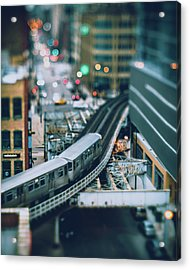 Tiny Chicago Acrylic Print