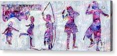 Tiny Dancer Growing Up Acrylic Print