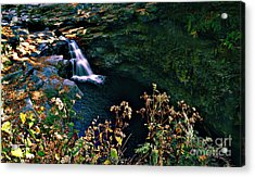 Acrylic Print featuring the photograph Water Falls by Raymond Earley