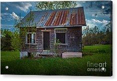 Tiny Farmhouse Acrylic Print