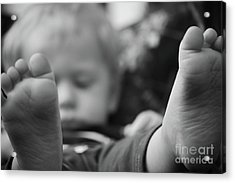 Acrylic Print featuring the photograph Tiny Feet by Robert Meanor