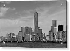 Tip Of Manhattan Acrylic Print