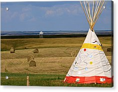 Acrylic Print featuring the photograph Tipi On The High Plains by Kate Purdy