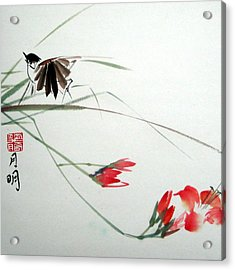 Tireless Flight Acrylic Print by Ming Yeung