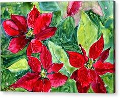 'tis The Season Acrylic Print by Mary Benke