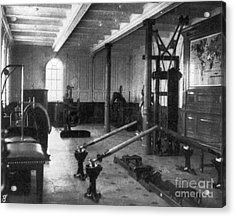 Titanic: Exercise Room, 1912 Acrylic Print by Granger