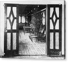 Titanic: Private Deck, 1912 Acrylic Print by Granger