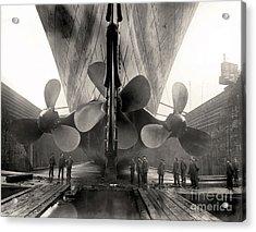 Titanic's Propellers  Acrylic Print