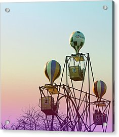 Tivoli Balloon Ride Acrylic Print