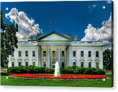Tlhe White House Acrylic Print