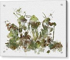 Tmnt Acrylic Print