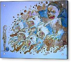To Corrupt The Innocence Acrylic Print by Paulo Zerbato