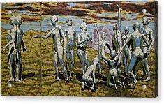 To Dance Acrylic Print by Leo Mazzeo