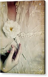 To Hold A Rose So Sweet Acrylic Print