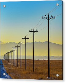 Acrylic Print featuring the photograph To Infinity by Rand