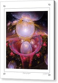 To Journey Beyond Acrylic Print by Gayle Odsather