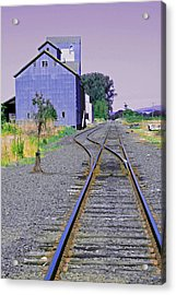 To Nowhere Acrylic Print by Margaret Hood