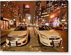To Serve And Protect Acrylic Print