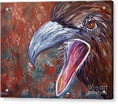 To Speak Of Eagles Acrylic Print
