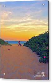 To The Beach Acrylic Print by Todd Breitling